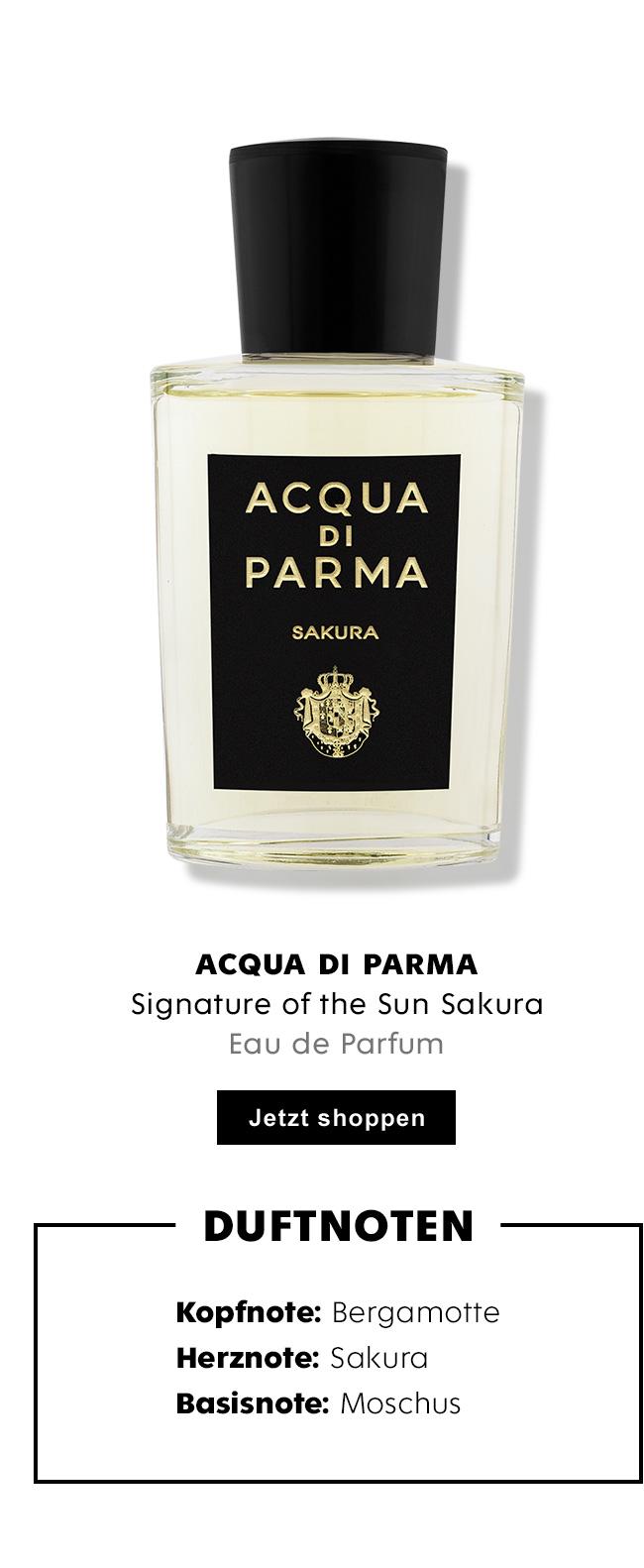 Acqua di Parma Signature of the Sun Sakura Eau de Parfum für Damen und Herren