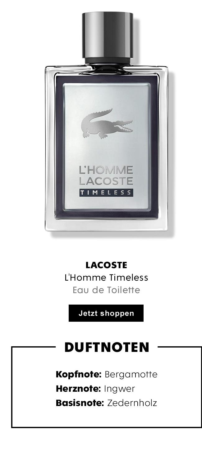 Lacoste L'Homme Timeless Eau de Toilette für Herren