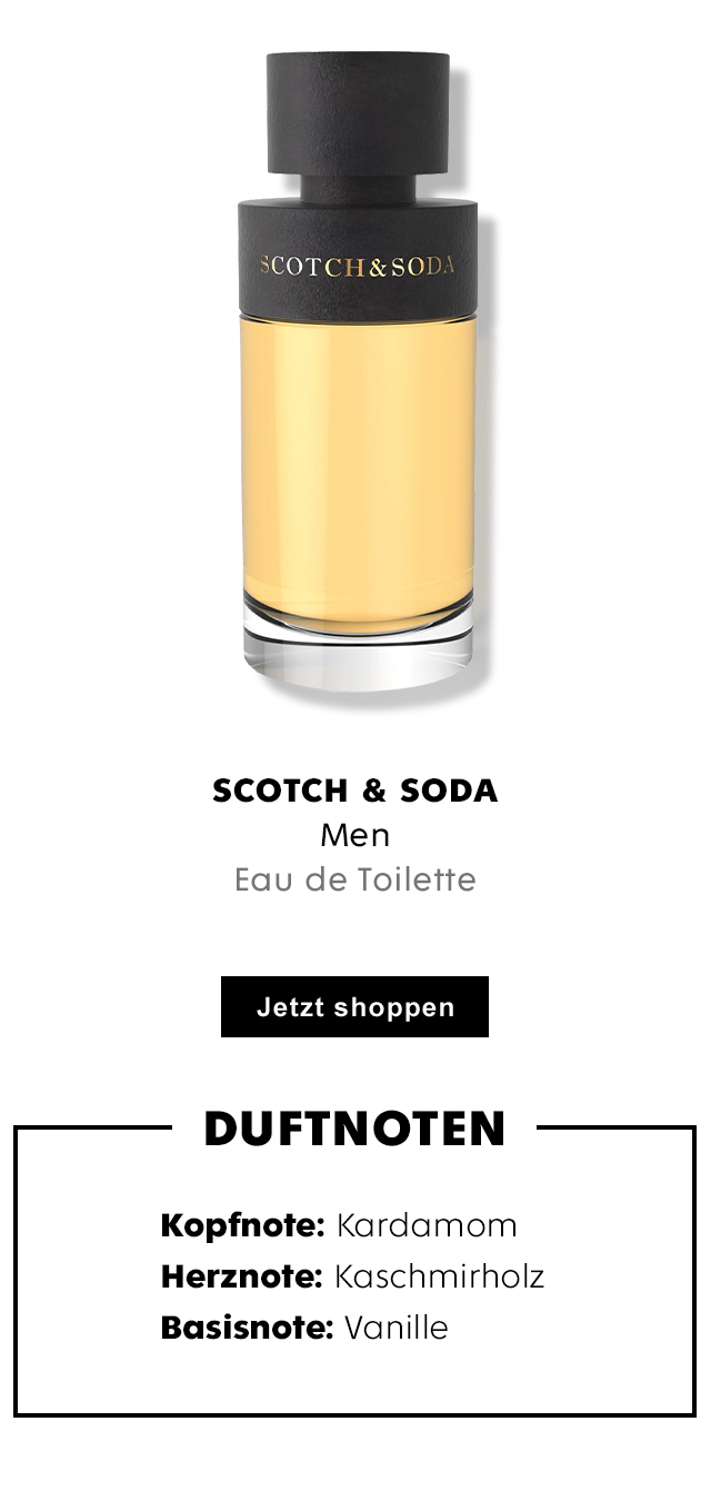 SCOTCH & SODA Men Eau de Toilette für Herren